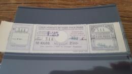 LOT 434116 TIMBRE DE FRANCE NEUF** LUXE PARIS POUR PARIS N°188 VALEUR 55 EUROS - Colis Postaux