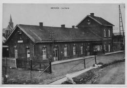 Berzée  La Gare--thy Le Chateau--  Walcourt - Rare-  Top Carte - Walcourt