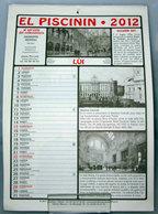 EL PISCININ 2012 CALENDARIO - Calendari