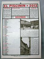 EL PISCININ 2013 - Calendari