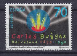 Spain 1999 Mi. 3485     70 (Pta) Beleuchtete Brunnenfontänen Fountain Konstruktion Carles Buigas - 1931-Heute: 2. Rep. - ... Juan Carlos I