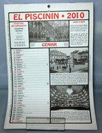 EL PISCININ 2010 - Calendari