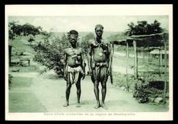 CONGO BELGE, Stanleyville, Deux Chefs De Médailles De La Région, ETHNIQUE - Congo Belge - Autres