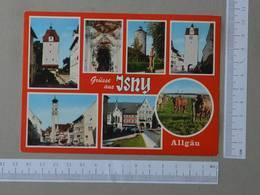 GERMANY - GRUSSE AUS JSNY -  ALLGAU -   2 SCANS  - (Nº27021) - Wangen I. Allg.
