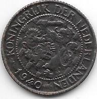 Netherlands 1 Cent 1940  Km 152  Xf+ !! - [ 3] 1815-… : Kingdom Of The Netherlands