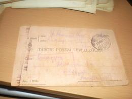 Tabori Posta WW1  Kuk 15 Feldkompagnie  1915 To Nagybecskerek Zrenjanin - Militaria