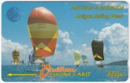 ANTIGUA & BARBUDA A-117 Magnetic Cable & Wireless - Sport, Event, Yacht Regatta - 7CATD - Used - Antigua And Barbuda