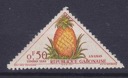Gabon 1962 Mi. 34     50c. Portomarke TAXE Ananas Pineapple MNH** - Gabun (1960-...)