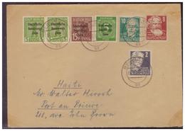 SBZ (007457) Brief, MIF Gelaufen Nach Haiti!! Von Berlin Am 6.6.1949 - Soviet Zone