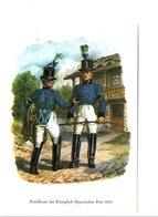 ALLEMAGNE POSTILLONS DE BAVIERE 1850 - Postal Services
