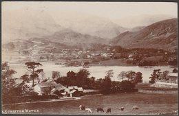 Coniston Water, Lancashire, 1908 - RP Postcard - England