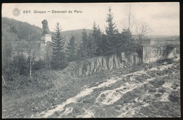 GILEPPE   DEVERSOIR DU PARC - Gileppe (Barrage)