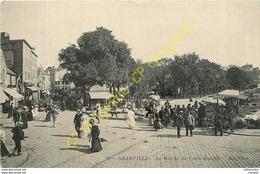 50.  GRANVILLE .  Le Marché Du Cours Jonville . - Granville