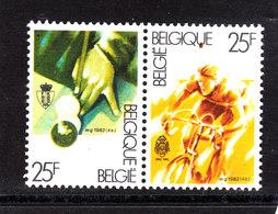Belgio  - 1982. Biliardo E Ciclicsmo. Billiards And Cycling. - Ciclismo