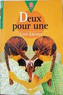 DEUX POUR UNE (Erich Kastner) - Bücher, Zeitschriften, Comics
