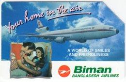 BANGLADESH A-031 Magnetics - Traffic, Airplane - 200 Units - Used - Bangladesh