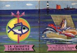 Lorient (56 Morbihan) LA CAISSETTE LORIENTAISE : Livret De Recettes  1965  (PPP10062) - Reclame