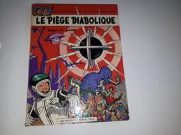 LE PIEGE DIABOLIQUE 9/1962 - ETAT B - Blake Et Mortimer
