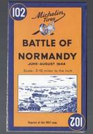Carte MICHELIN : BATTLE OF NORMANDY (réédition ) (PPP10063) - Cartes Topographiques
