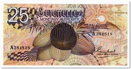 SEYCHELLES,25 RUPEES,1979,P.24,AU-UNC - Seychelles