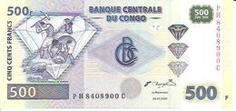 Congo  P-96  500 Francs  2002  UNC - Congo