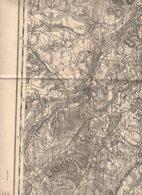 Carte Etat Major 1914...surement 1ère Guerre....BEAUVAIS Noté 32...ref 291218008 - Cartes Topographiques