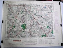 Carte Etat Major Montaigu  (Vendée) Type M - 1/50000ème Feuille XIII - 25  Institut Géographique National (IGNF) 1952 - Cartes Topographiques