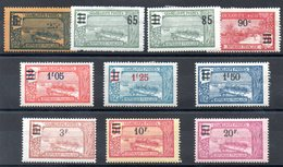 GUADELOUPE - YT N° 89 à 98 - Neufs * - MH - Cote: 42,00 € - Unused Stamps