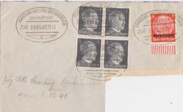 Lettre (adresse Découpée) Obl Ambulant (T172 Zug 2386 Saarburg-Dreibrunnen A) Sur TP Lotr 8pf Le 2/12/41 - Marcophilie (Lettres)