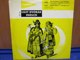 """LP074 -LISZT - DVORAK - ENESCO - DISCO 10"""" - Classica"""