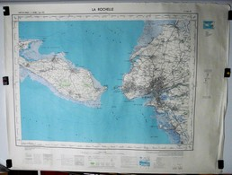 Carte Etat Major La Rochelle Type1922 - 1/50000ème Feuille XIII - 29  Institut Géographique National (IGNF) 1959 - Cartes Topographiques