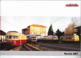 Catalogo Marklin Novità 2007 - Catalogues