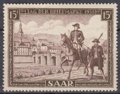SAAR  305, Postfrisch **, Tag Der Briefmarke 1951 - Neufs