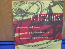 """LP075 -C. FRANCK - SYMPHONY IN D MINOR - DISCO 10"""" - Classica"""