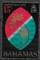 1972 15 Cents Christmas, Used - Bahamas (...-1973)