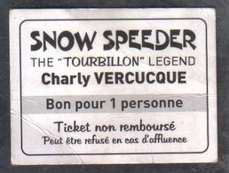Ancien Ticket De Manège Ducasse - Autres Collections