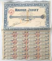 ACTION MAISON JENNY 1928 - HAUTE COUTURE - Parfums & Beauté