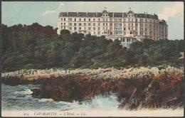 L'Hôtel, Cap-Martin, 1907 - Lévy CPA LL414 - Roquebrune-Cap-Martin
