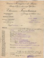 VP13.916 - Lettre - Graines Fourragères & De Prairie - Etienne FRICOTEAUX à ROZOY - SUR - SERRE ( Aisne ) - Agriculture