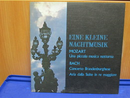 LP069 - EINE KLEINE NACHTMUSIK - MOZART-BACH - WILHELM BRUCKNER-RUGGEBERG Dirige La NORDDEUTSCHE PHILARMONIE - Classica