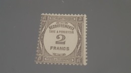 LOT 434210 TIMBRE DE FRANCE NEUF* N°62 VALEUR 180 EUROS - Postage Due