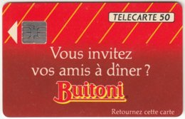 FRANCE C-031 Chip Telecom - Advertising, Food - Used - France