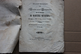 Erection Et Inauguration De La Statue Du Maréchal Bessières Duc D'Istrie, Né à Prayssac (Lot), 1847 - Livres