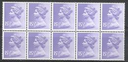 Great Britain 1982. Scott #MH93 Pane (MNH) Machins * - 1952-.... (Elizabeth II)