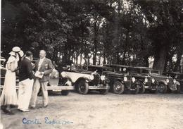 Photographie Anonyme Vintage Snapshot Automobile Voiture Auto Car Cabriolet - Automobiles