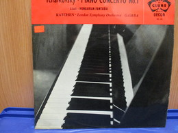 LP109 -TCHAIKOVSKY-PIANO CONCERTO No.1-LISZT-HUNGARIAN FANTASIA -KATCHEN-London Symphony Orchestra GAMBA-MADE IN ENGLAND - Classica