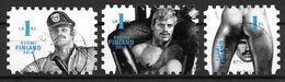 Finlande 2014 N°2305/2307 Oblitérés Tom Of Finland. Oeuvres  Homosexuelles - Finnland
