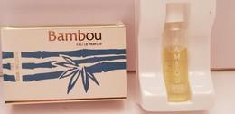 MINIATURE PARFUM   WEIL  BAMBOU  EDP   3 Ml - Miniatures Womens' Fragrances (in Box)