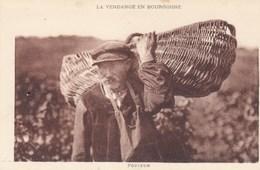 La Vendange En Bourgogne - Porteur - Vignes