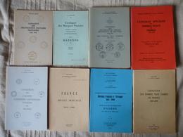 Lot De Livres Philathéliques - Timbres